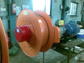 Kourotor Stalletjie Torque Motor Bestuur Kabel Oproller